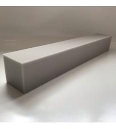 Kistenkussen 70x10x10cm.